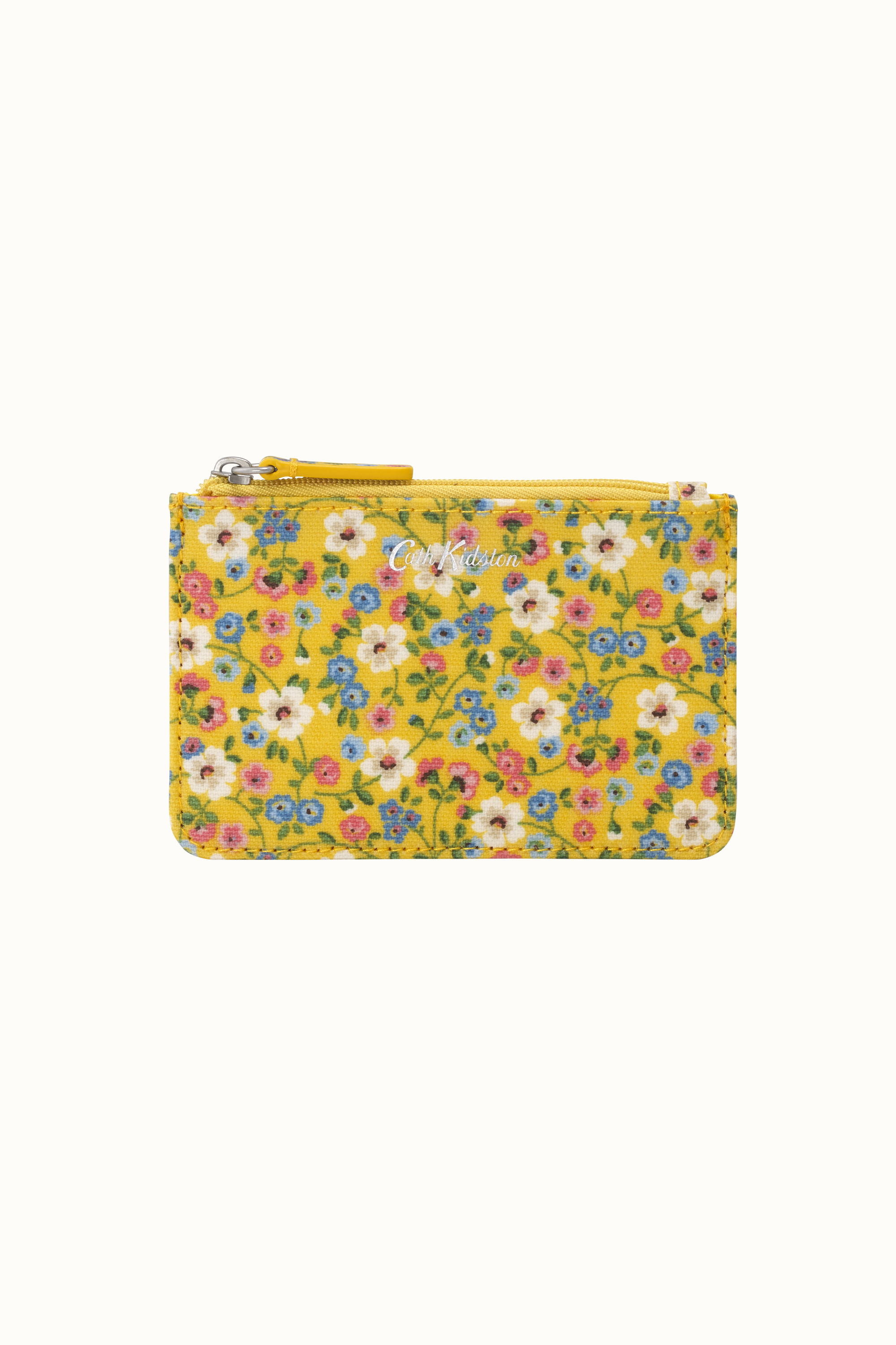 Cath Kidston Pembridge Ditsy Small Card & Coin Purse in Yellow