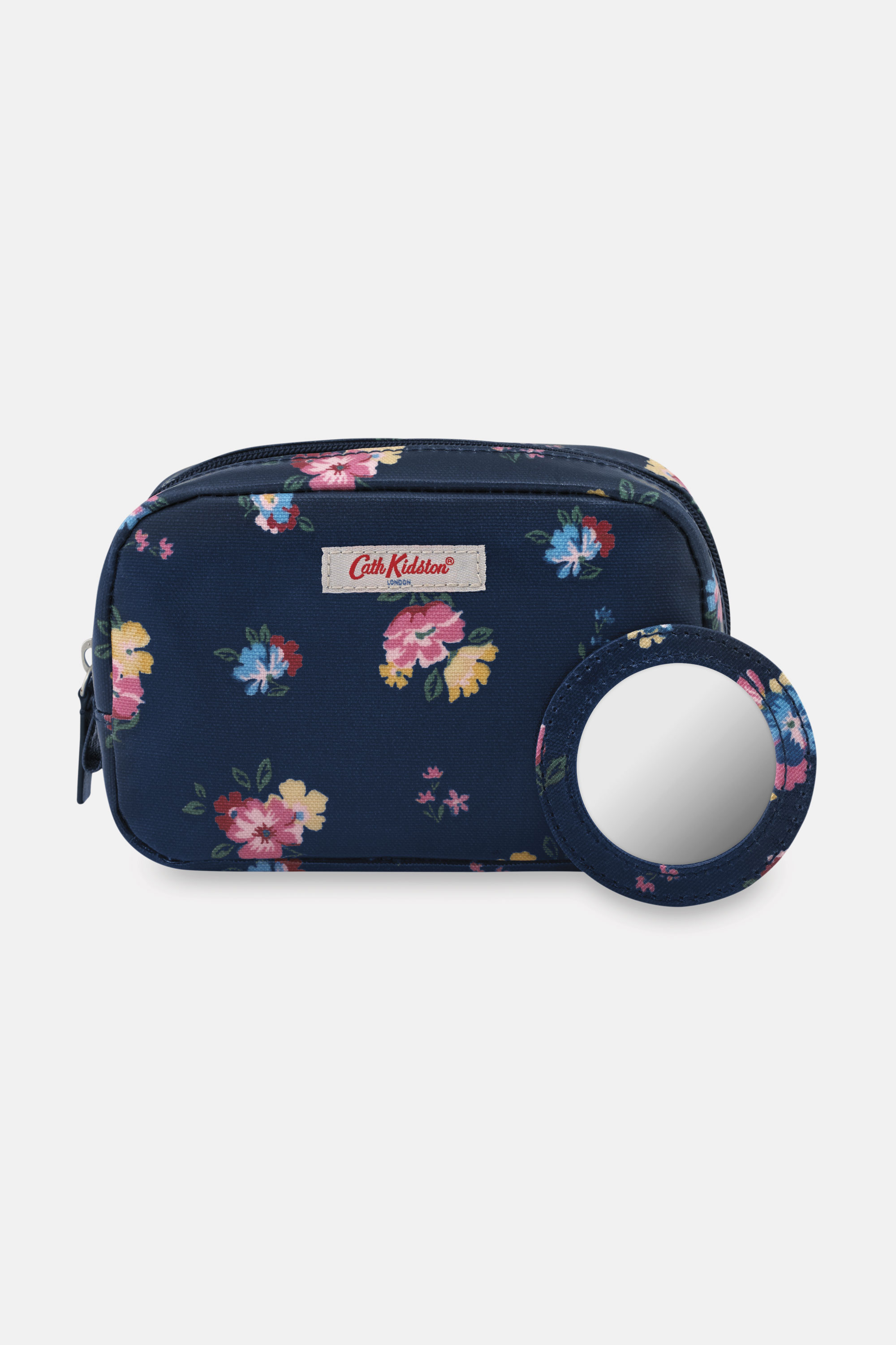Cath Kidston Park Meadow Bunch Classic Makeup Case in Navy