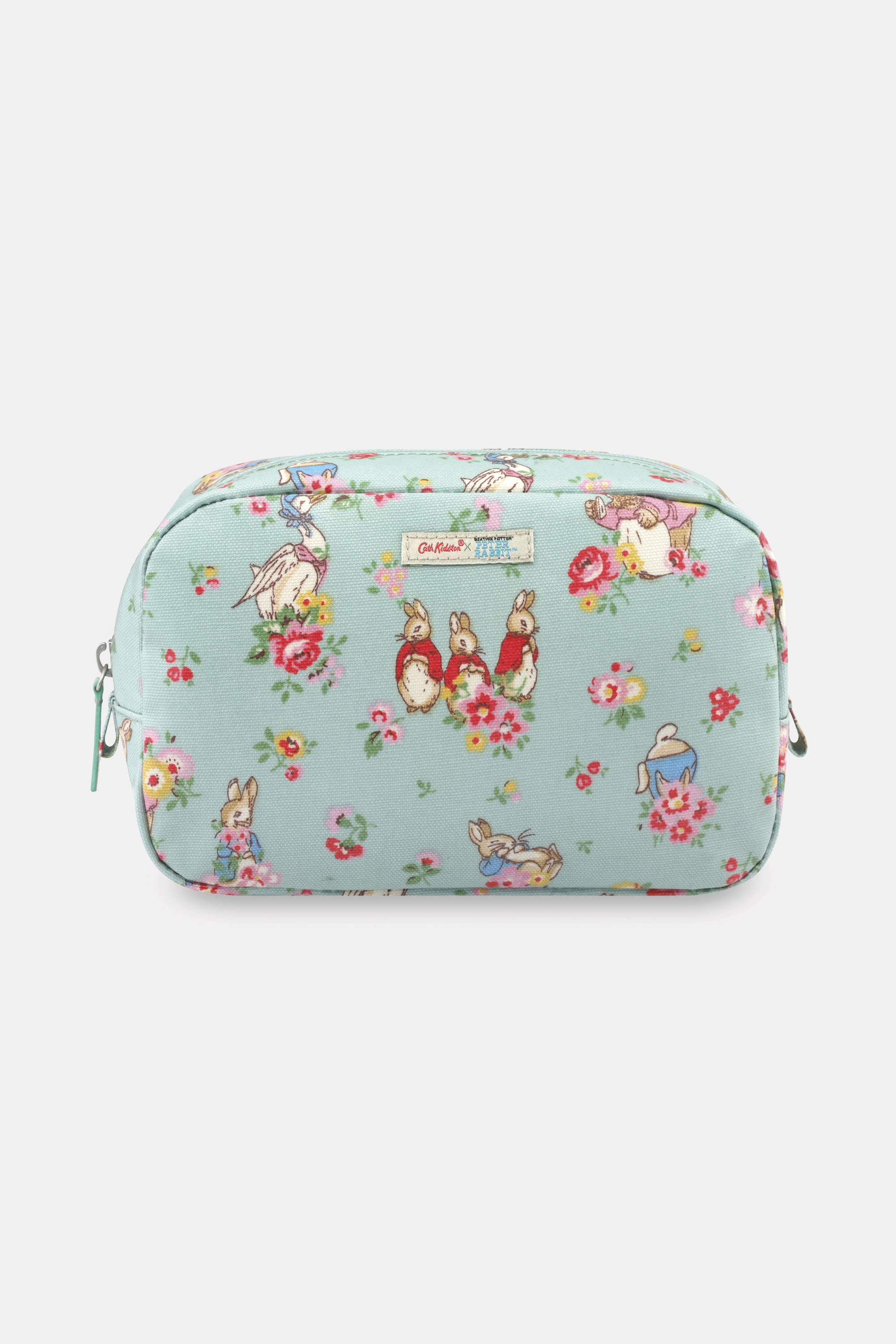 Cath Kidston Peter Rabbit Ditsy Classic Cosmetic Bag in Mint