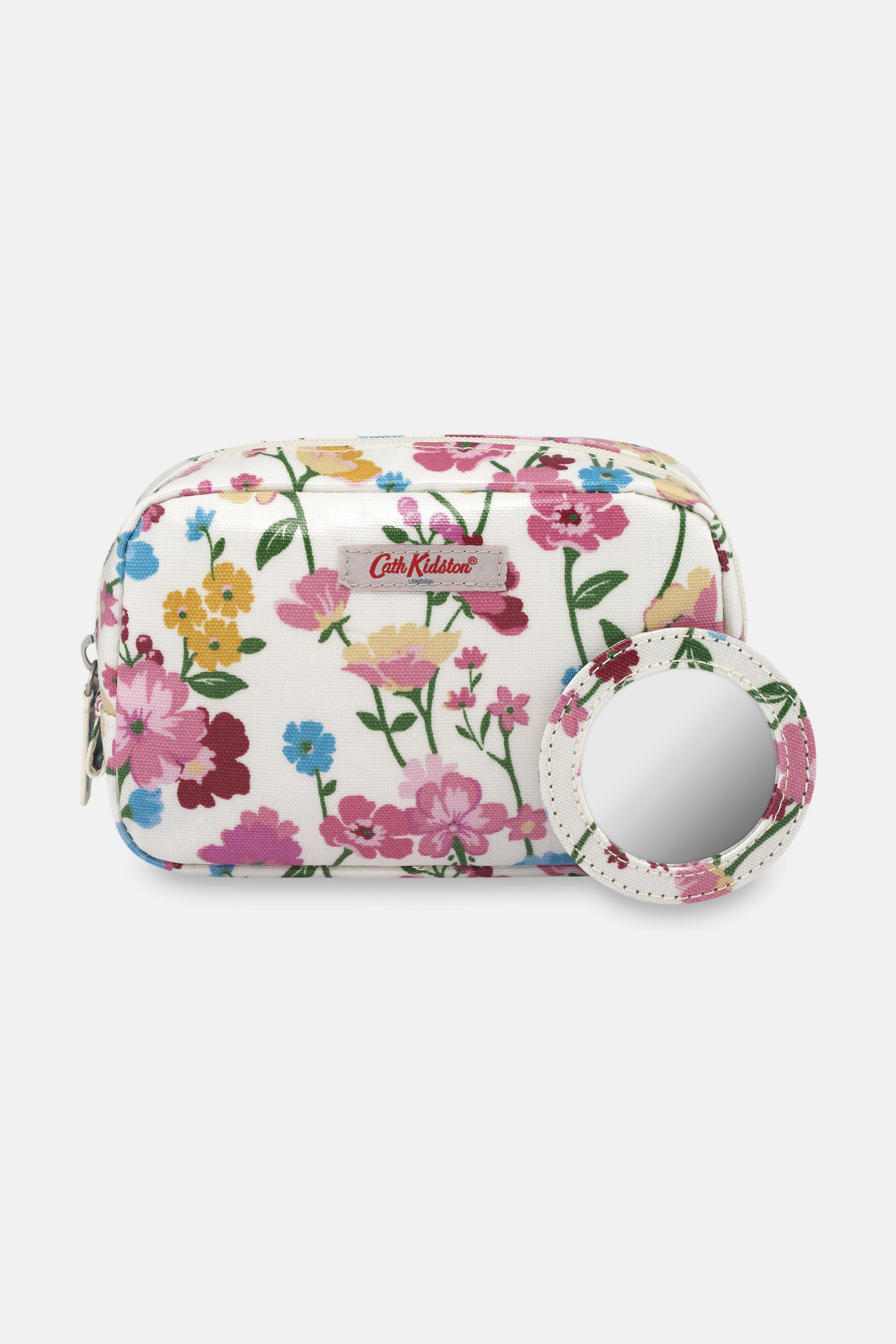 Cath Kidston Park Meadow Classic Makeup Case in Warm Cream