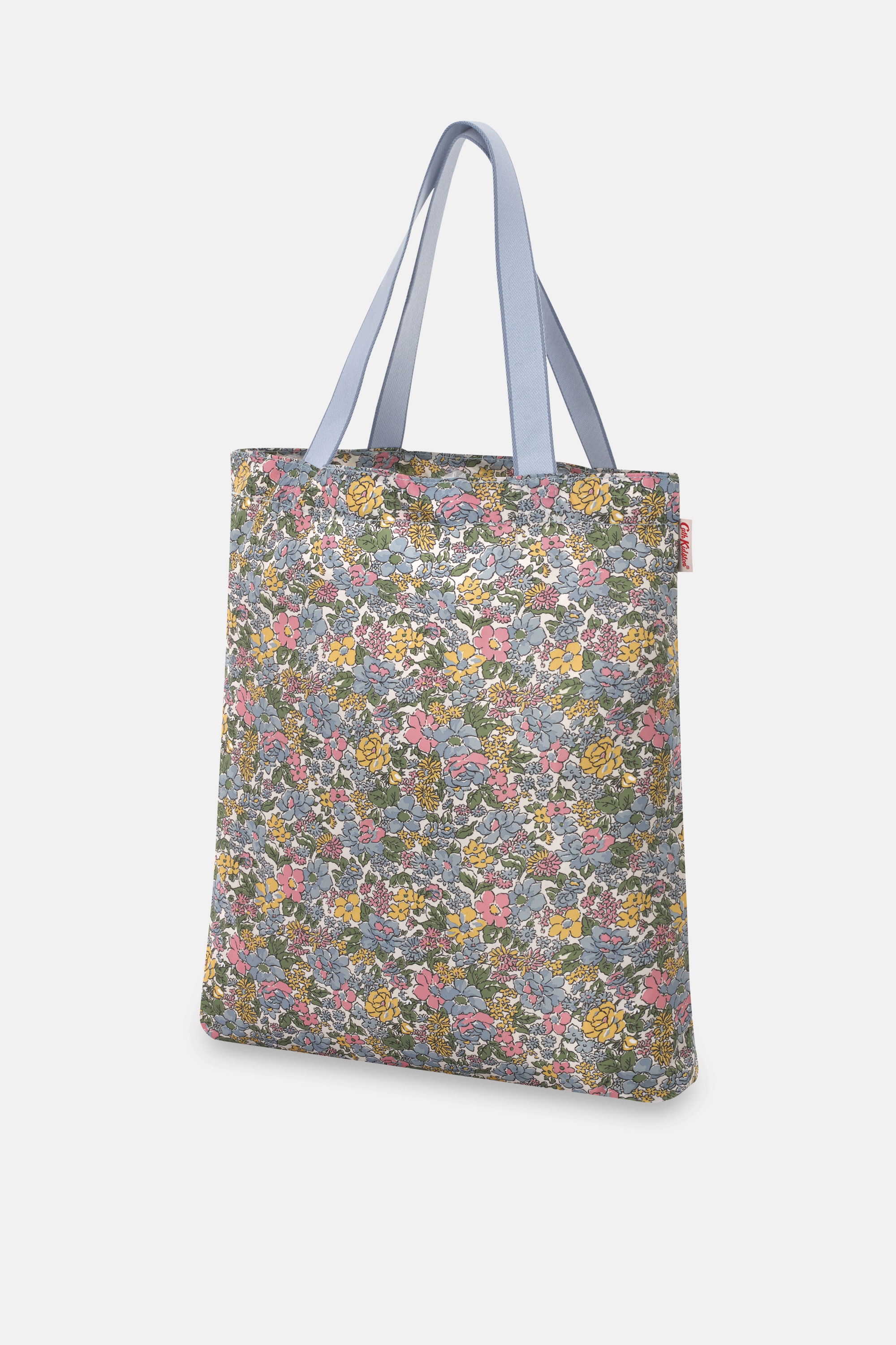 Cath Kidston Vale Floral Small Foldaway Tote in Green