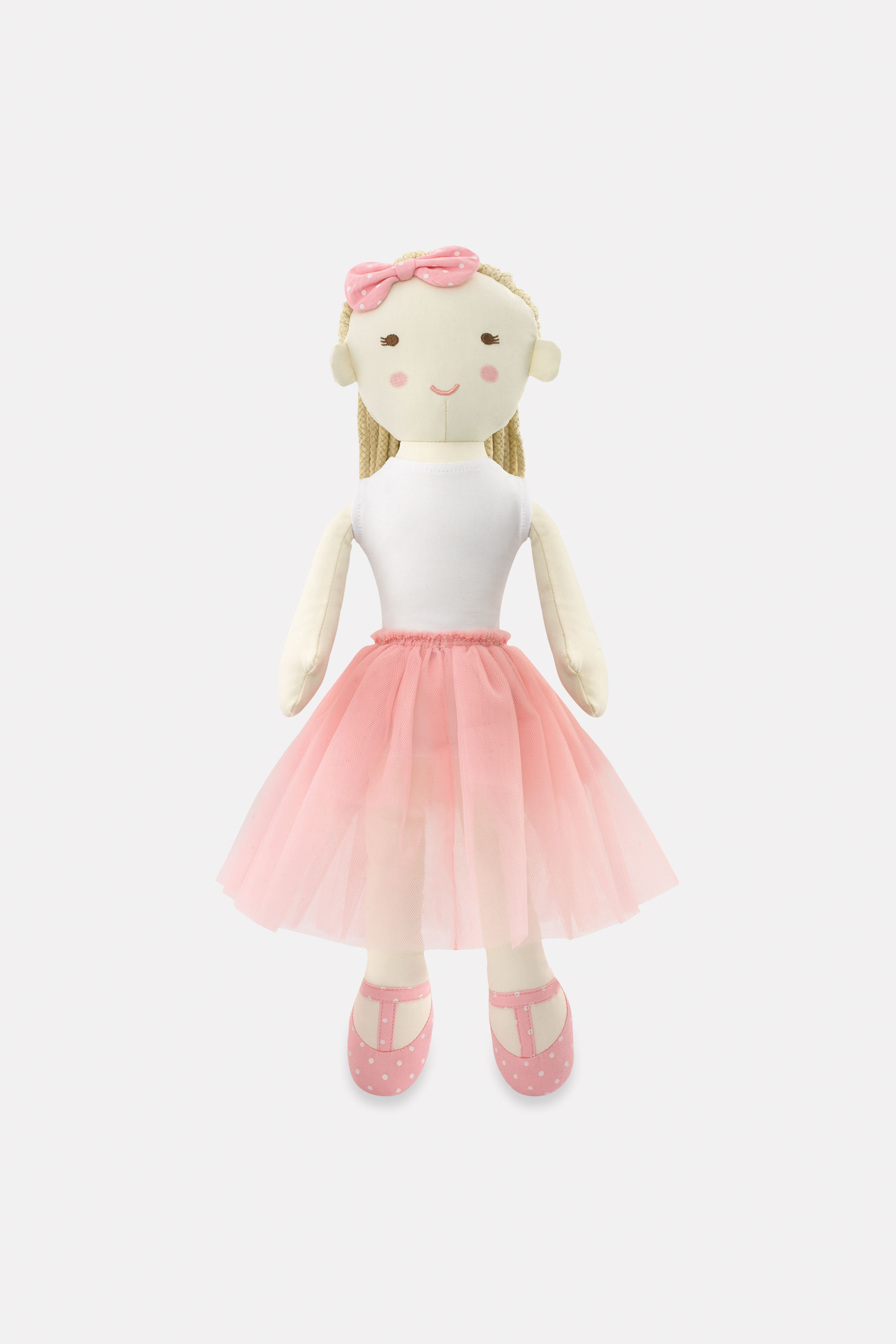 Cath Kidston Ballerina Rag Doll Solid in Cool Pink