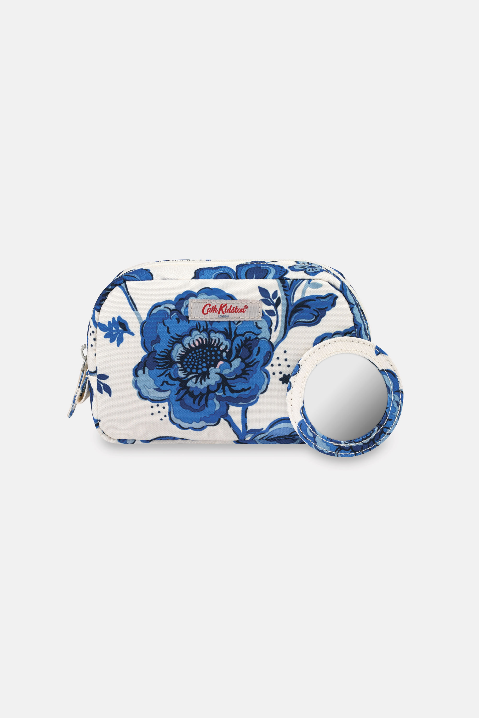 Cath Kidston Chintz Flower Recycled Classic Make Up Bag in Warm Cream