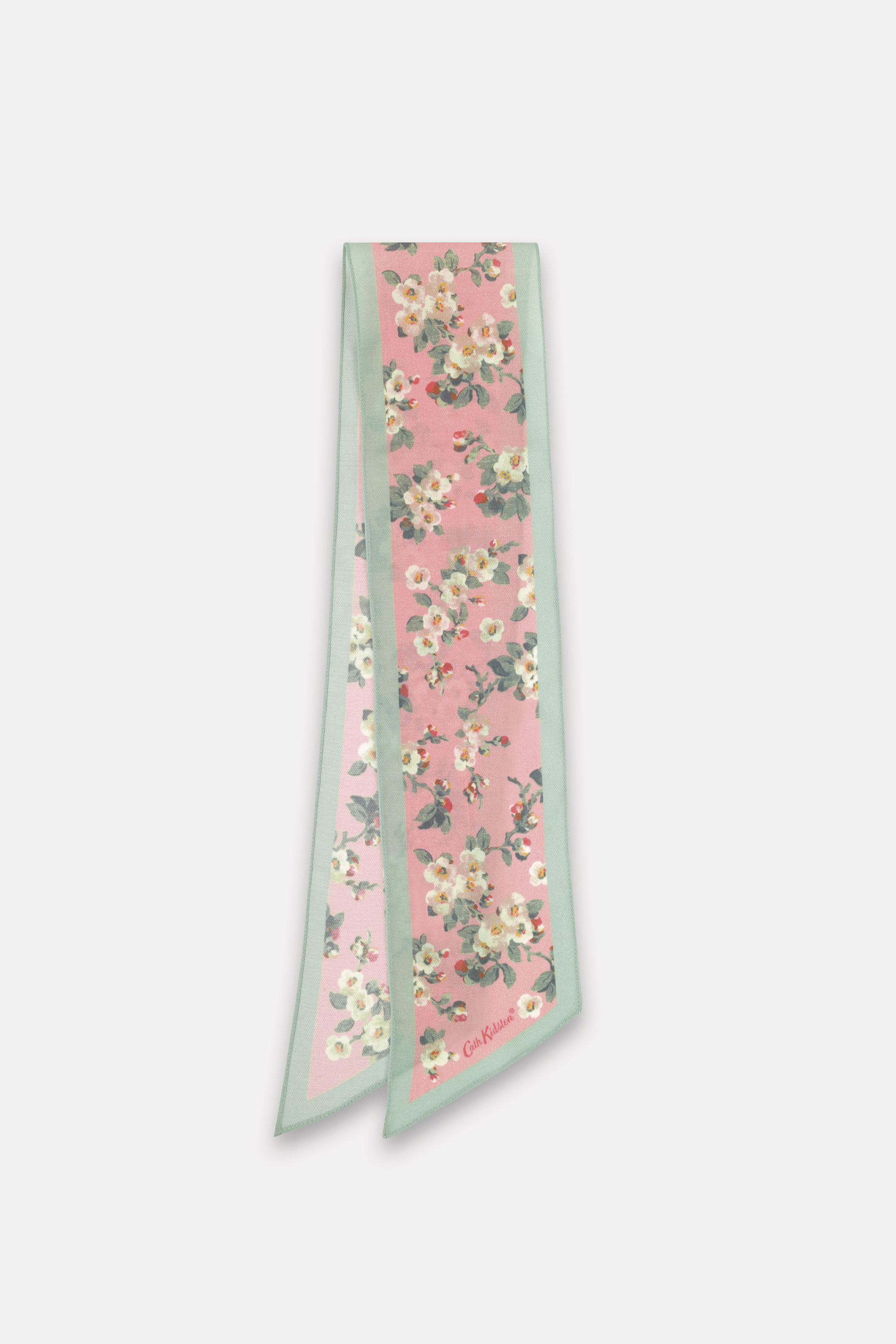 Cath Kidston Mayfield Blossom Scarf in Pink, 100% Viscose