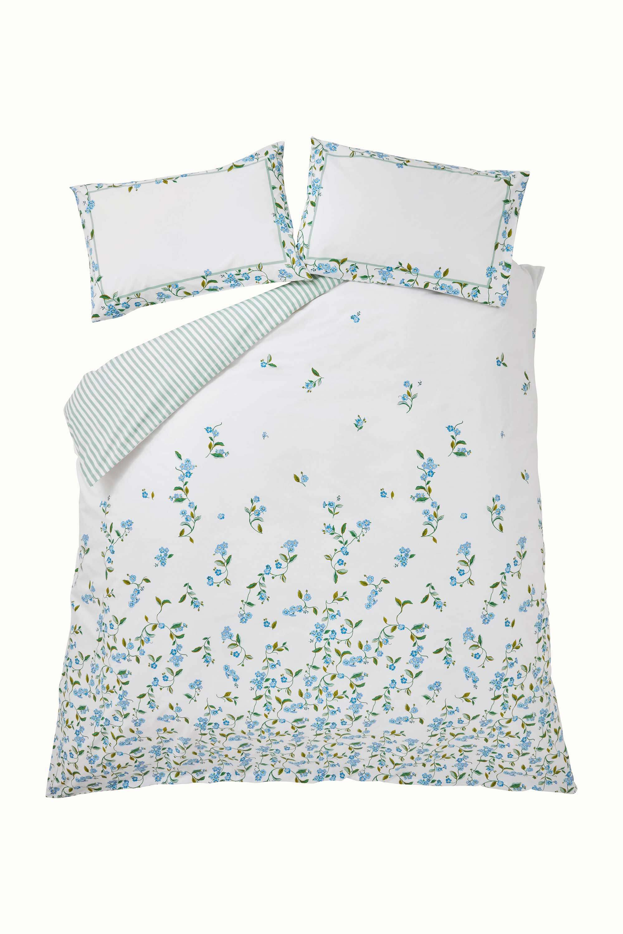 Cath Kidston Forget Me Not Bedding Set in Cream, Single